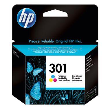 HP Tintenpatrone 301 cyan/magenta/gelb