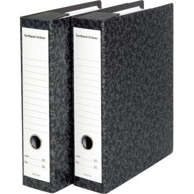 SoldanPlus Gurtband-Ordner CLASSIC 3347000 70mm schwarz