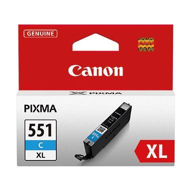 Canon Tintenpatrone CLI-551XL C