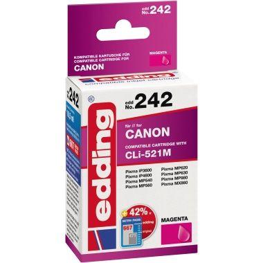 edding Tintenpatrone Canon CLI521M