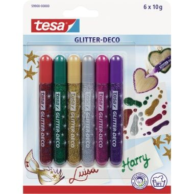 tesa Glitterstift Glitter-Deco
