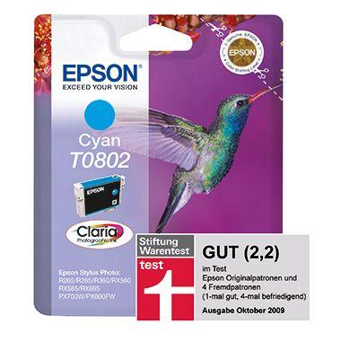 Epson Tintenpatrone T0802