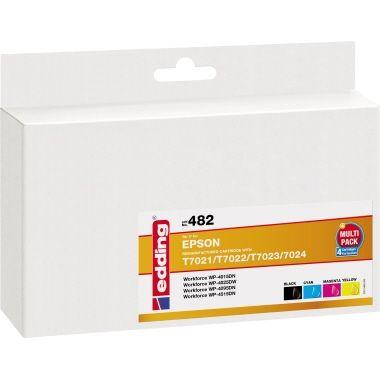edding Tintenpatrone Epson T7021XL/T7022XL/T7023XL/T7024XL