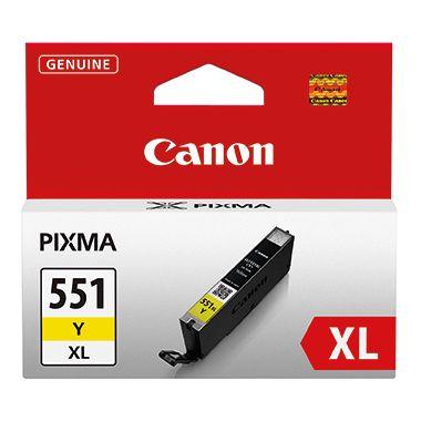Canon Tintenpatrone CLI-551XL Y