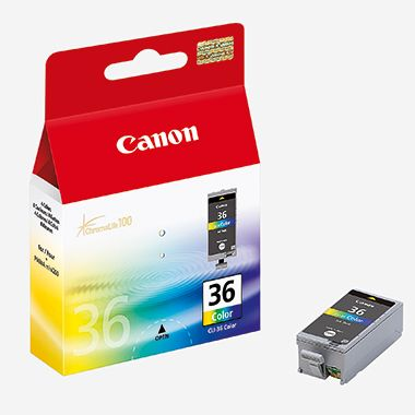Canon Tintenpatrone CLI-36 C/M/Y