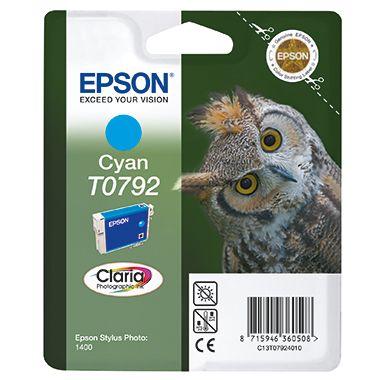 Epson Tintenpatrone T0792 cyan
