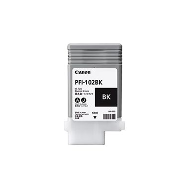 Canon Tintenpatrone PFI-102BK schwarz