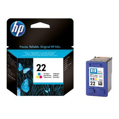 HP Tintenpatrone 22 ca. 165 Seiten