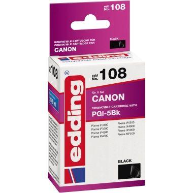 edding Tintenpatrone Canon PGI-5BK