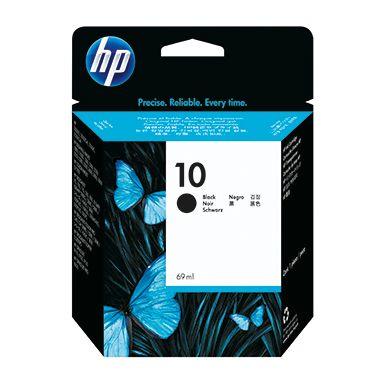 HP Tintenpatrone 10 schwarz