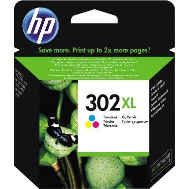 HP Tintenpatrone 302XL cyan/magenta/gelb