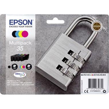 Epson Tintenpatrone 35 schwarz, cyan, magenta, gelb
