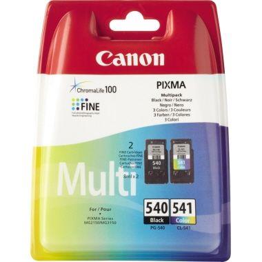Canon Tintenpatrone PG-540BK/CL-541 C/M/Y