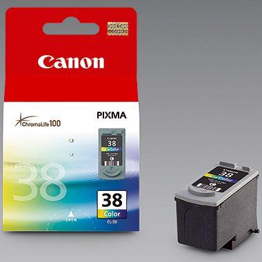 Canon Tintenpatrone CL-38 C/M/Y