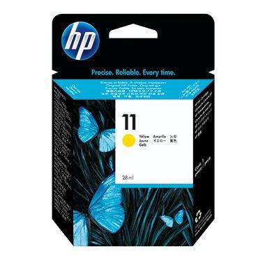 HP Tintenpatrone 11 gelb