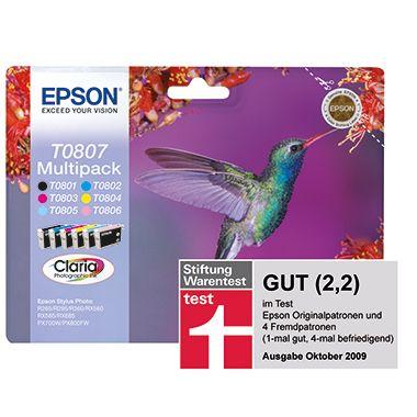 Epson Tintenpatrone T0807