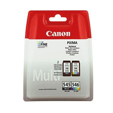 Canon Tintenpatrone PG-545BK/CL-546 C/M/Y
