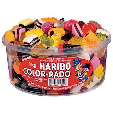 HARIBO Fruchtgummi Color-Rado