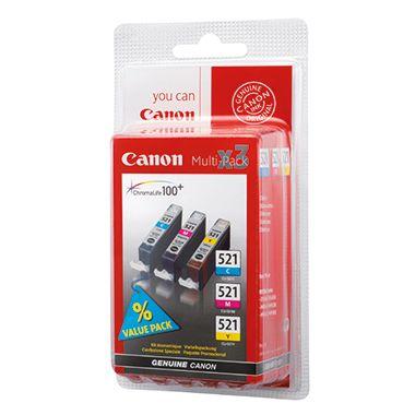 Canon Tintenpatrone CLI-521 C/M/Y