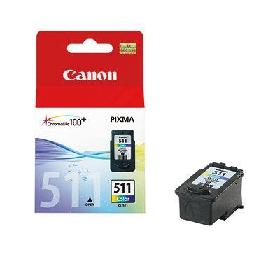 Canon Tintenpatrone CL-511 C/M/Y