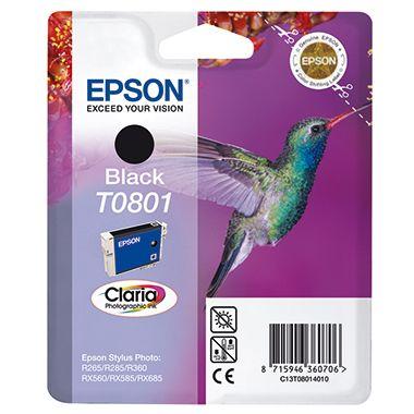 Epson Tintenpatrone T0801