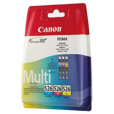Canon Tintenpatrone CLI-526 C/M/Y