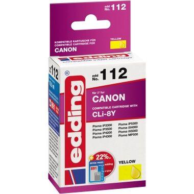 edding Tintenpatrone Canon CLI-8Y