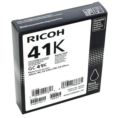 Ricoh Gelpatrone GC-41 K