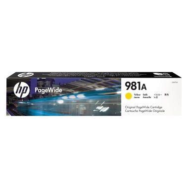 HP Tintenpatrone 981A gelb