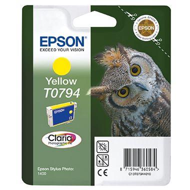 Epson Tintenpatrone T0794 gelb