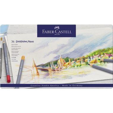 Faber-Castell Aquarellstift Goldfaber 36 St./Pack.