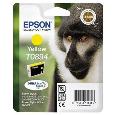 Epson Tintenpatrone T0894 gelb