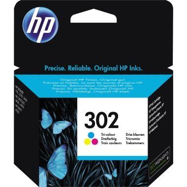 HP Tintenpatrone 302 cyan/magenta/gelb