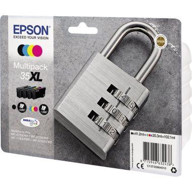 Epson Tintenpatrone 35XL schwarz, cyan, magenta, gelb