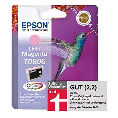 Epson Tintenpatrone T0806